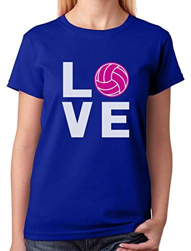 TeeStars - Love Volleyball - Best Gift Idea for Volleybal...