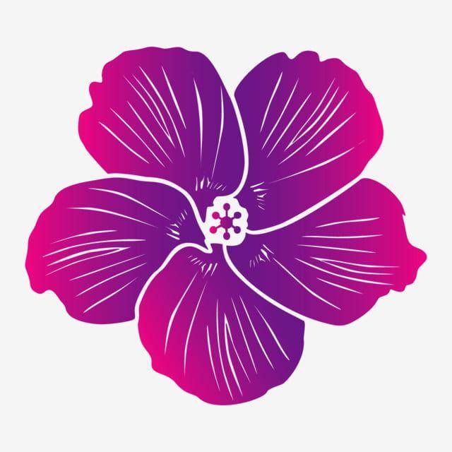 Hibiscus Flower Illustration In 2020 Flower Illustration Flower Painting Stock Art
