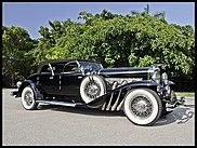1930 Duesenberg Model J Torpedo Phaeton Upgraded Coachwork by Fran Roxas of Chicago for sale by Mecum Auction