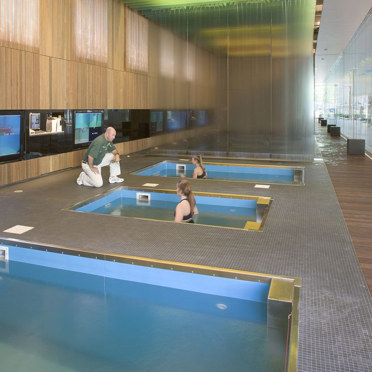 Aquatic Therapy In HydroWorx Pool