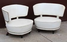 Pair of Slipper Chairs by Gilbert Rohde