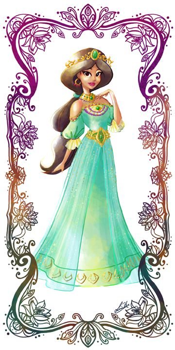 Deco Disney: Jasmine by Lorraine Yee.