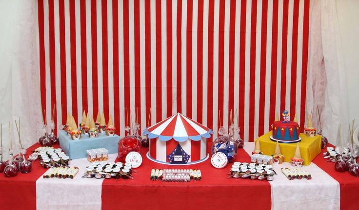 a mesa do circo