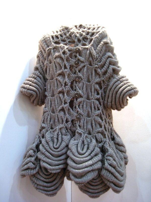 UK knitted textiles student Motohiro Tanji