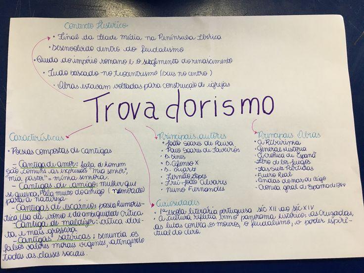 Escola literária, Trovadorismo