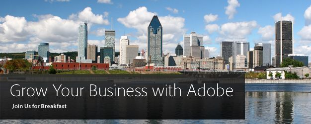Grow Your Business with Adobe | Adobe Marketing Cloud Breakfast Session for Marketing Agencies