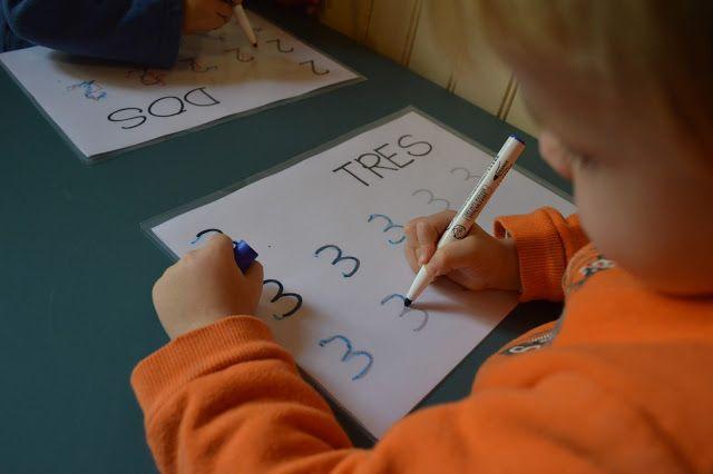Fichas descargables para aprender los números | Elenarte
