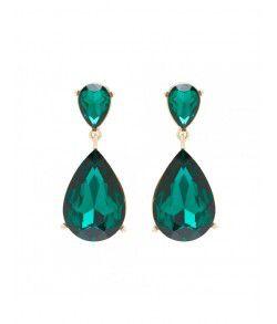 Crystal Teardrop Earrings from Forever New R199,00