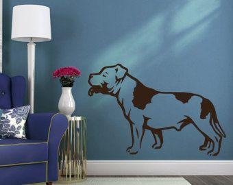 Hond Decal Engels Bulldog tong Vinyl Sticker sticker  door PSIAKREW