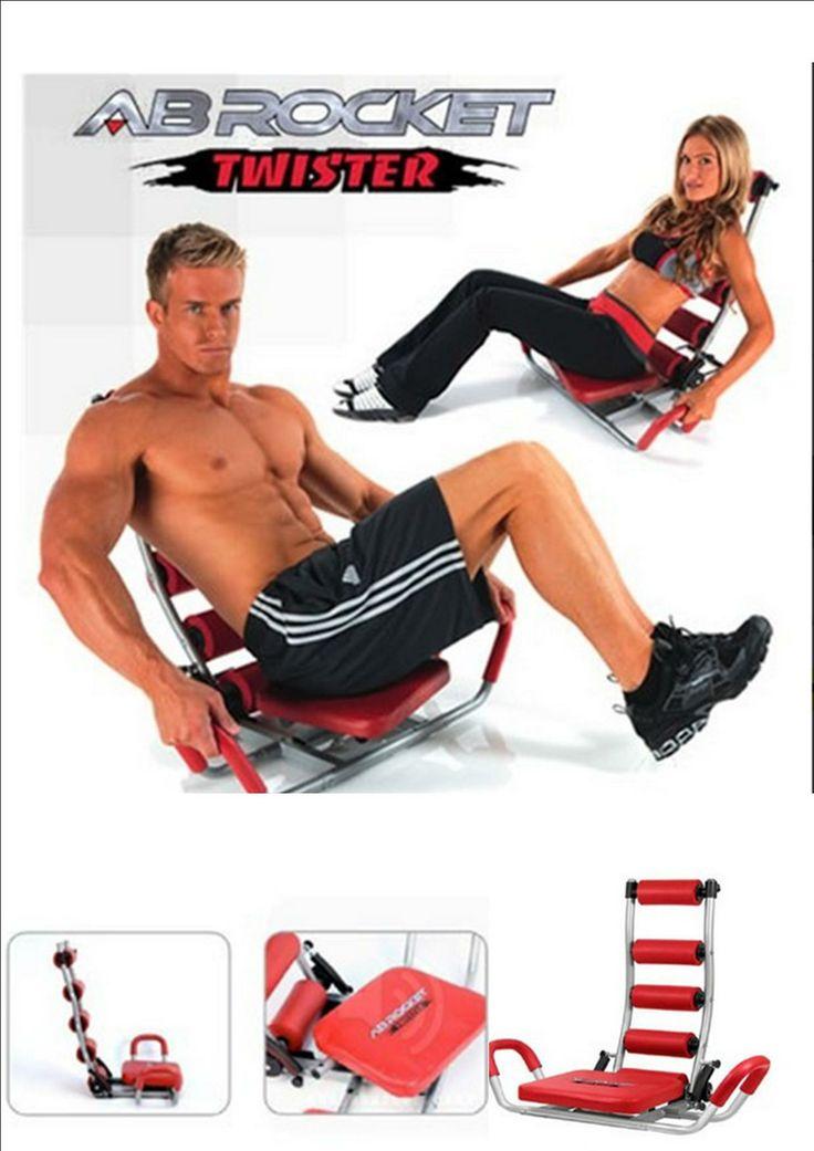 Banco de #abdominales AB Rocket Twister, colúmpiese  y disfrute del relajante movimiento y fortalezca sus abdominales al realizar una gran variedad de ejercicios abdominales. La resistencia de AB Rocket Twister surte efecto hacia arriba y hacia abajo, de modo que sus músculos abdominales se entrenan de forma óptima. Puede individualizar el entrenamiento con las tres cintas de resistencia de diferente grosor. Precio 59 €. Envío Península. #Fitness info@mmmarketingonline.es