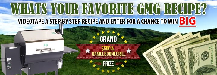 Green Mountain Grills Video Contest - WIN $500 and a Green Mountain Grill!!