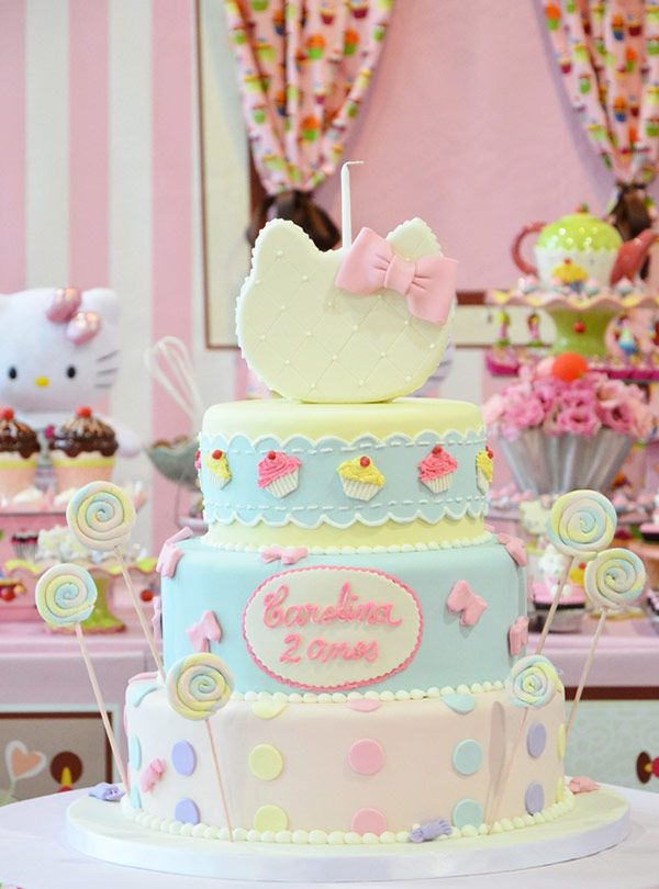 Festa confeitaria da Hello Kitty