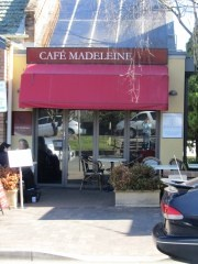 CAFE MADELEINE, LEURA. Great for cranberry and chocolate scones and real chai latte. Brought to the table in a teapot and strained and topped up at your leisure as more than enough for one glass. The best!
