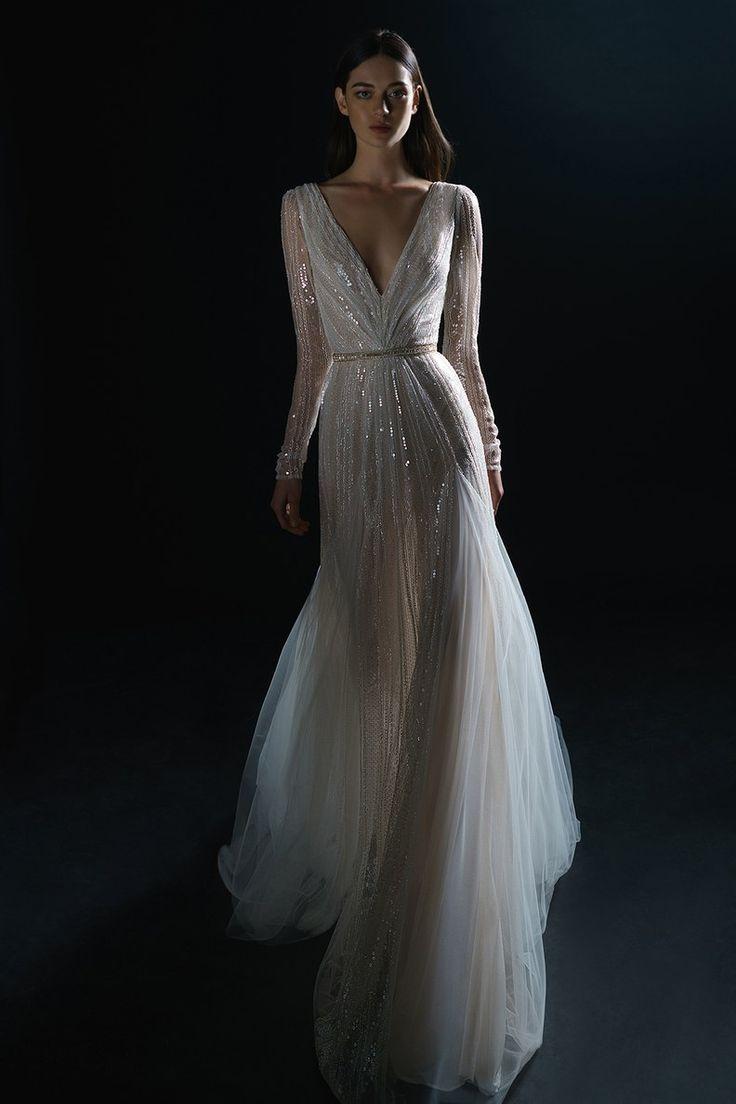 Wedding dress by Pure by [Inbal Dror](https://www.brides.com/photo/wedding-dress…