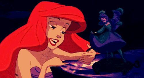 mermaid gif | The Little Mermaid ariel gifs