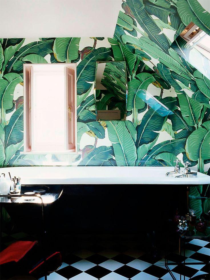 1000 id es sur le th me salle de bains papier peint sur for Papier peint salle de bain