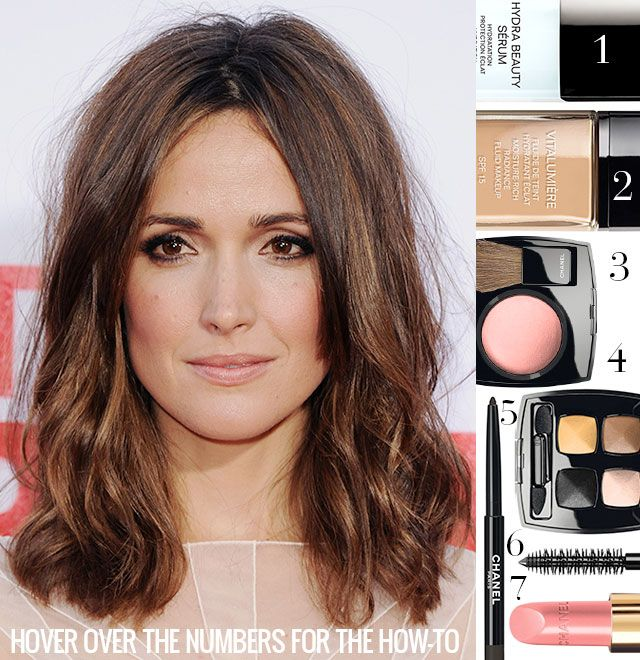 It's in the Crease: #HowTo Get Rose Byrne's Sultry Look from The Internship Premiere #beauty