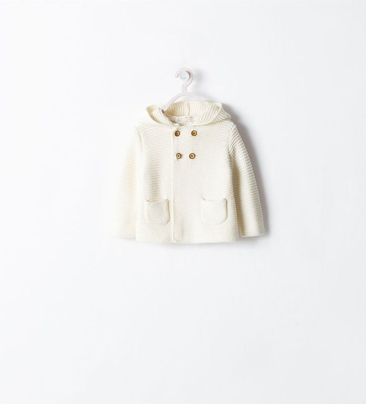 ZARA - MINI - COAT WITH HOOD