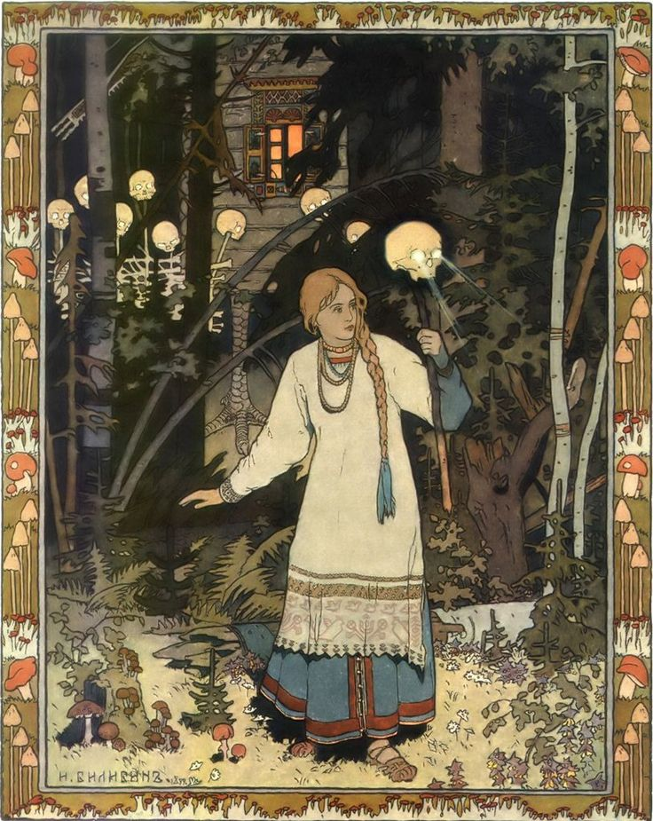 :: Sweet Illustrated Storytime :: Illustration by Ivan Bilibin - Vasilisa…