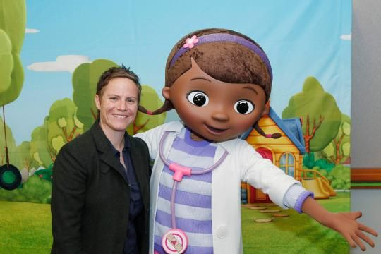 """Chris Nee talks to Yahoo TV about her career path, what it's like to have your show screened at the White House, and what we should do if the little girl in our life says she wants to be """"a princess… or a doctor."""""""