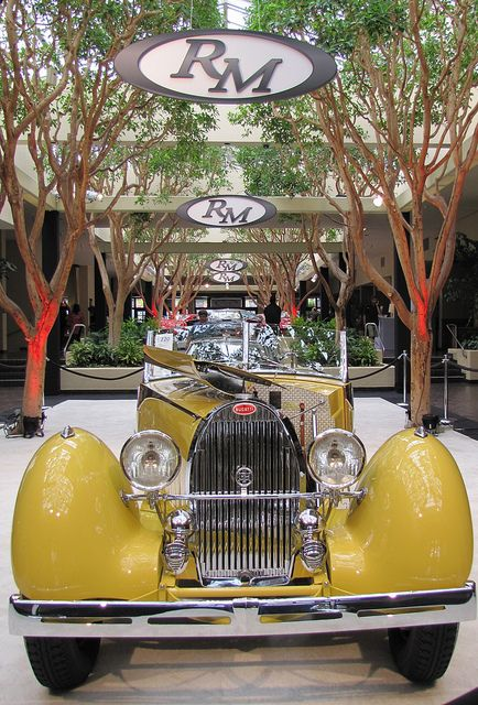 1935 Bugatti Type 57 Grand Raid Roadster at the RM Auction in Monterey, CA