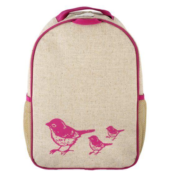 Rugzak SoYoung Roze vogels