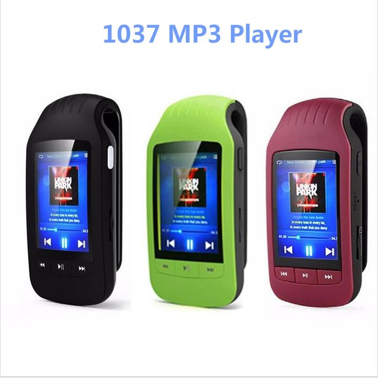 Clip Sport Bluetooth mp3 player 8GB HOTT 1037 Pedometer Bluetooth FM Radio w/TF Card Slot Stereo Music Player 1.8 LCD Screen