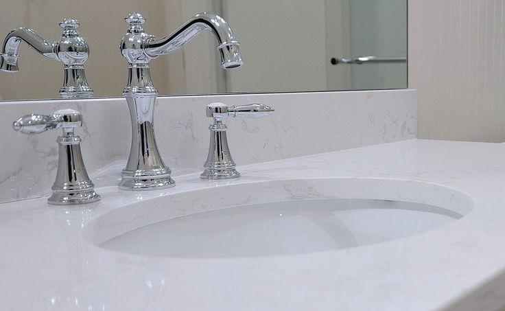 cambria quartz countertop bathroom traditional with  traditional bathroom sink faucets
