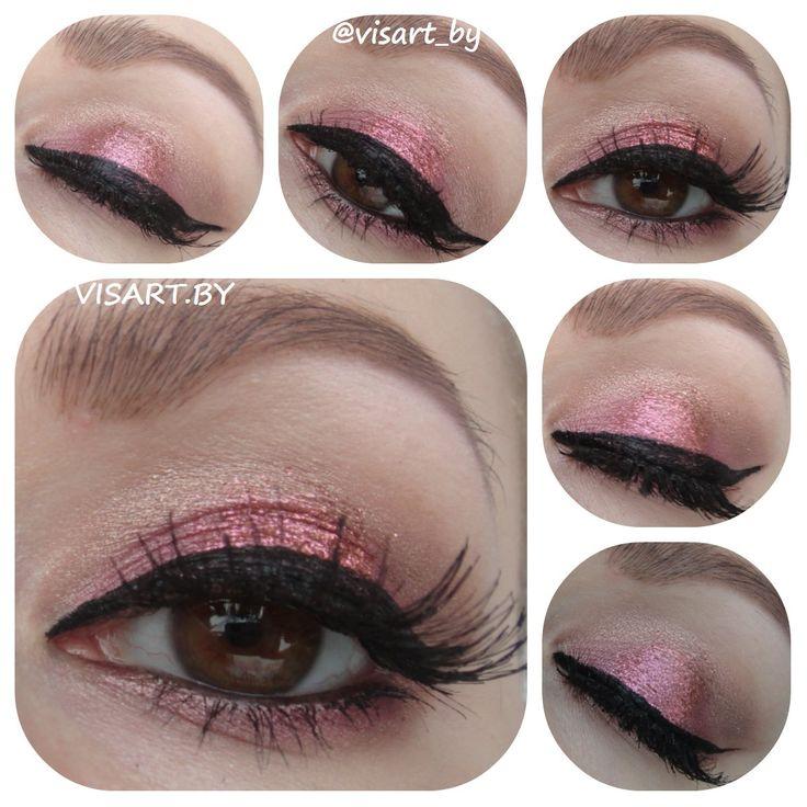 Розовый макияж глаз С палеткой Sleek Romace Vintage #makeupeyes #glamour #flawless #makeup #inglot #benefit #sleek #makeupaddict #makeupideas #makeupartist #makeupmafia #ardell #makeuplover #instamakeup #mua #sleekeyeshadow #bbloggers #глаза #макияжглаз #макияж #мэйкап #макияжминск #визаж #визажистминск #буднивизажиста #бьютиблоггер www.visart.by