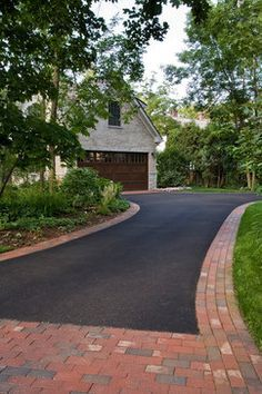 tarmac drive paved edging - Google Search