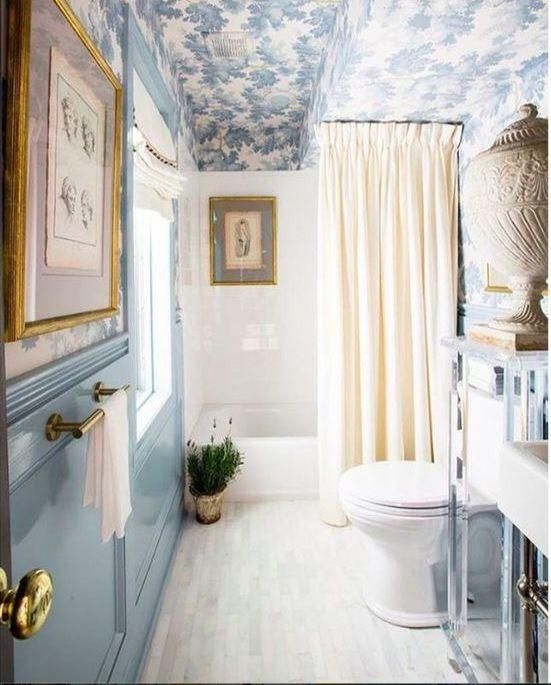 Monday Blues Made Bright With A Stunning Cottage Bathroom By Betsy Nixon  Hazard + Shaun Smith Home Featuring Our U0027Raphaelu0027 From // Via    Photography: ... Part 64