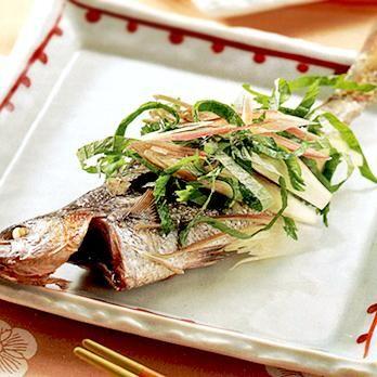 たかべの塩焼き薬味じょうゆ | 石原洋子さんの焼き魚の料理レシピ | プロの簡単料理レシピはレタスクラブニュース
