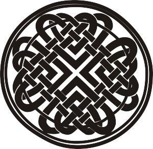 El nudo celta representa algo que no puede deshacerse, es el símbolo del amor eterno
