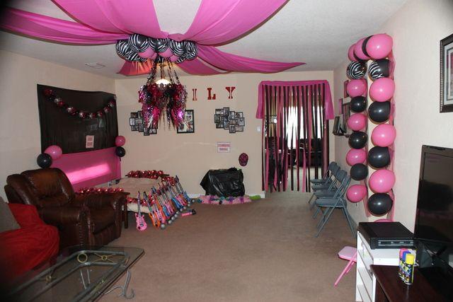 "Photo 1 of 26: Rockstar Diva / Birthday ""Rockstar Party"" | Catch My Party"