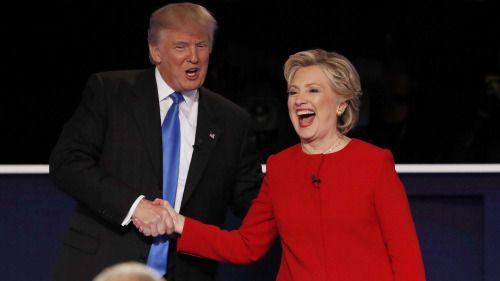 Financial markets say Clinton beat Trump in the debate...