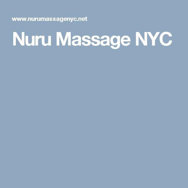Nuru Massage NYC