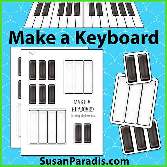 Put together a keyboard puzzle   Free Music Games   Piano Teaching Resources   Piano Lesson Games
