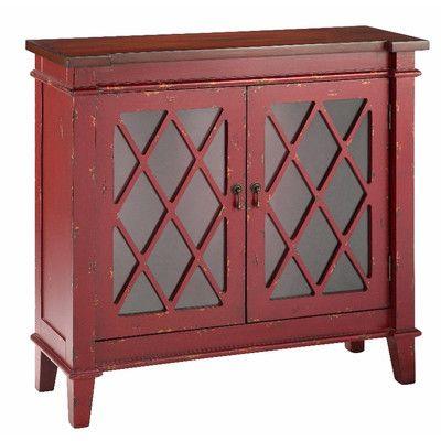 Stein World Goshen Cabinet With Glass Doors