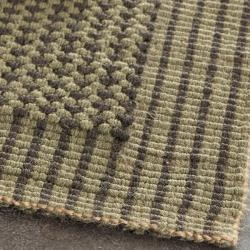 @Overstock - An elegant contemporary loop design and a jute pile highlight this handmade rug. This rug has a green background and displays stunning panel colors of green and charcoal grey.http://www.overstock.com/Home-Garden/Handwoven-Loop-Jute-Green-Rug-3-x-5/6458277/product.html?CID=214117 $48.59