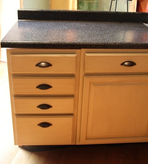 Rustoleum Countertop Paint Pewter : 400 kitchen makeover in a box rustoleum countertop kitchen countertops ...