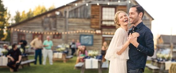 Kate Bosworth tied the knot with film director Michael Polish last summer, and now we're finally getting an inside look at their Big Day celebration.