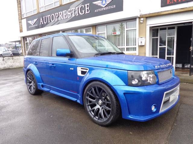 2005 Range Rover Sport 2.7 TDV6. AP Customs RS Wide Edition. Individual Blue. Click on pic shown for loads more.