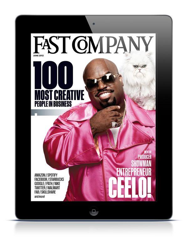 Fast Company iPad App on App Design Served
