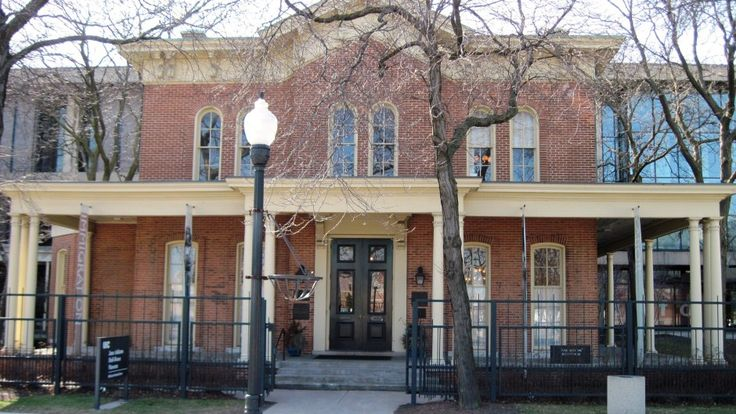 Jane Addams' Hull House - #3 on Rent.com's countdown of the most haunted places in Chicago.