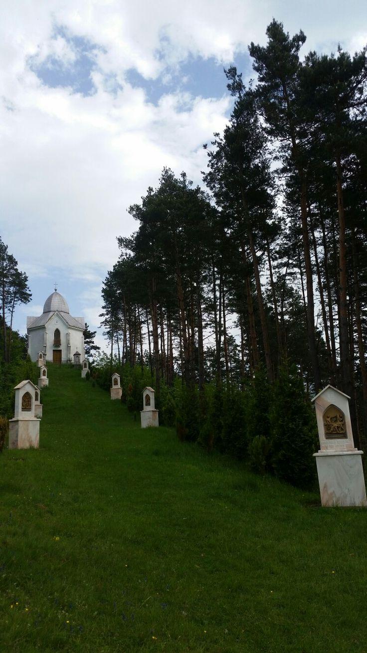 The monunent of Chatolic Church in Caraşova România