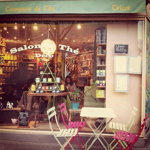 yarn shop in paris