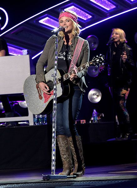 Miranda Lambert performs during the 2014 American Country Countdown Awards rehearsals on Dec. 14, 2014, in Nashville.