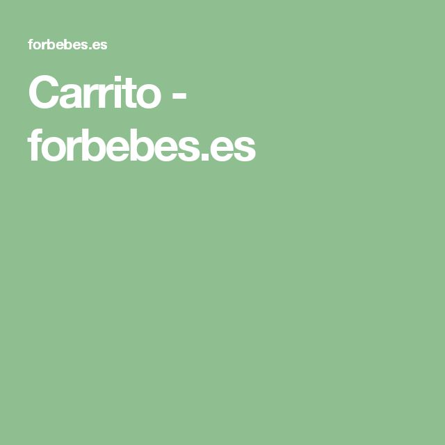 Carrito - forbebes.es