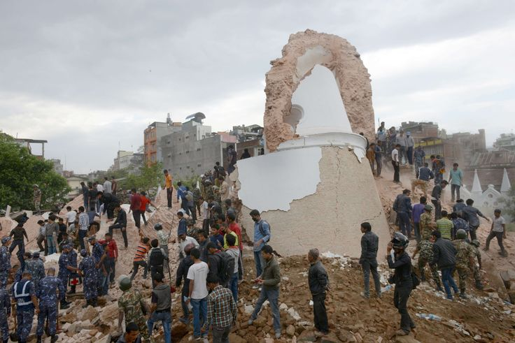 Earthquake in Nepal - in pictures Dharahara is no more