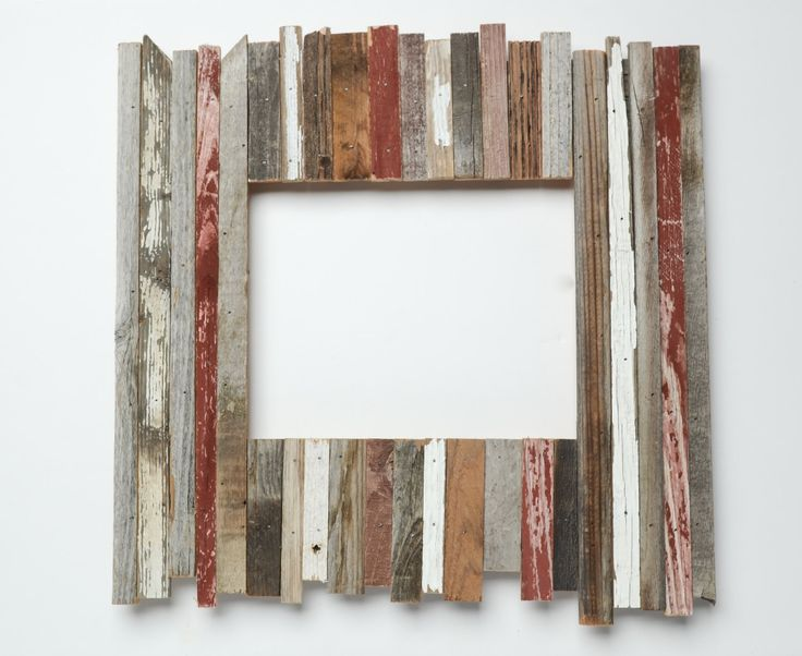 16x20 reclaimed rustic picture frame